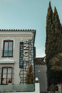 Fons Restaurant Estepona Terrace
